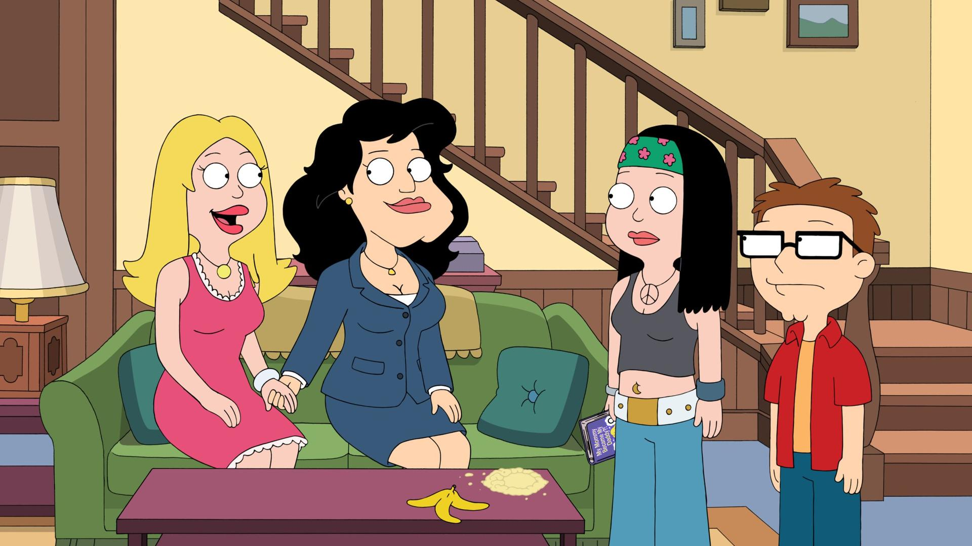 American Dad Wife american dad! (s10e14): stan goes on the pill summary