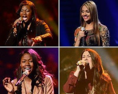 Top 10 Female Semifinalists Perform Live