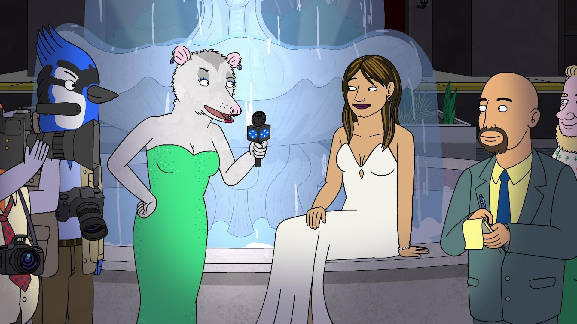 Image result for bojack horseman head in the clouds