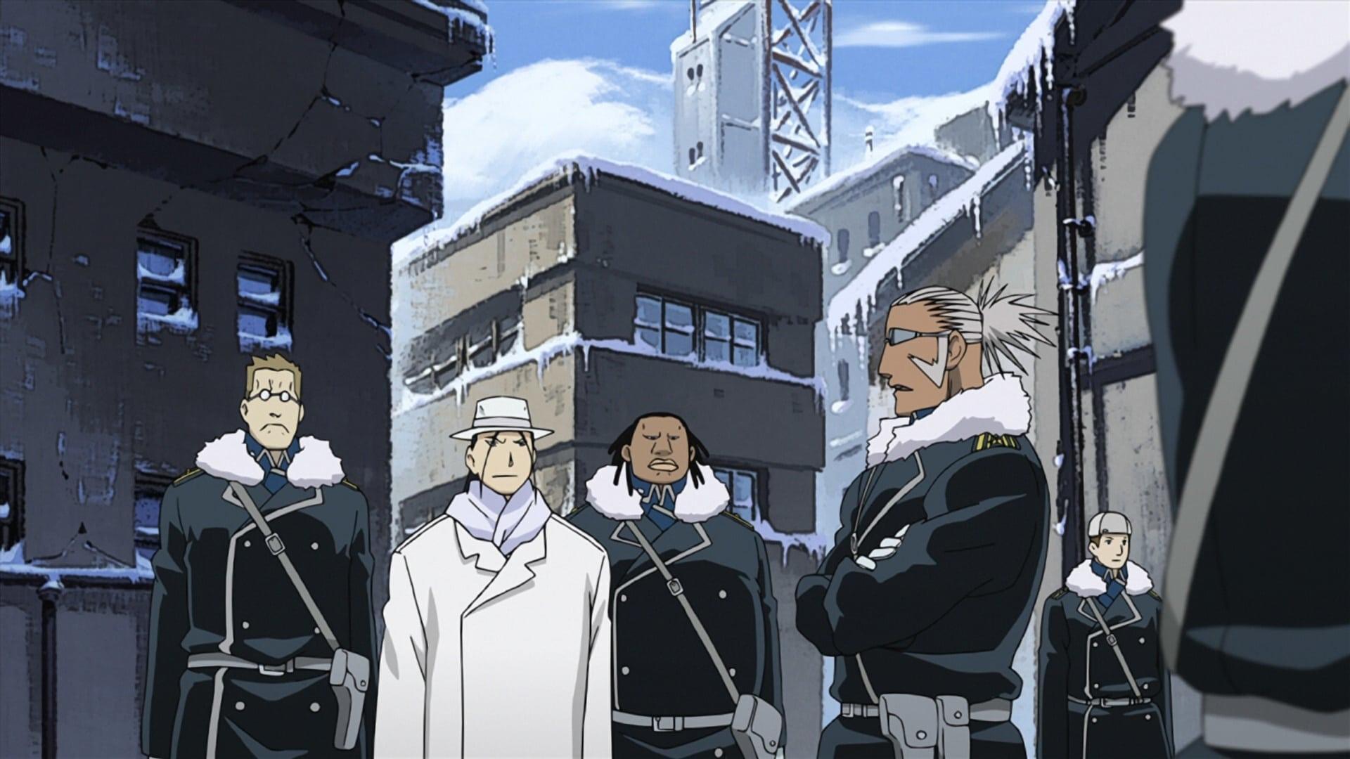 Fullmetal Alchemist: Brotherhood (S01E38): Conflict at ...