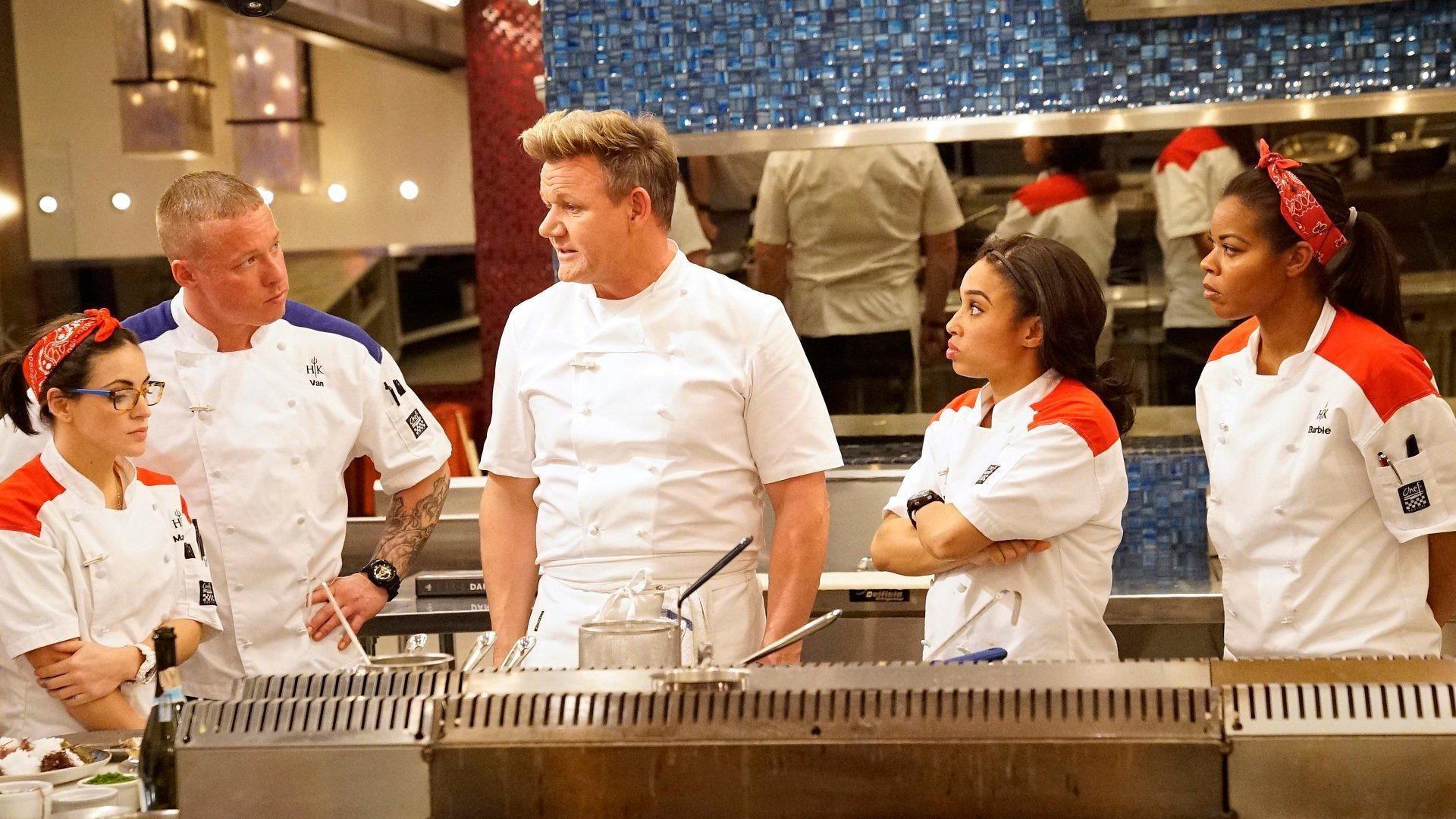 Hell S Kitchen Us S17e07 Trimming Fat Summary Season