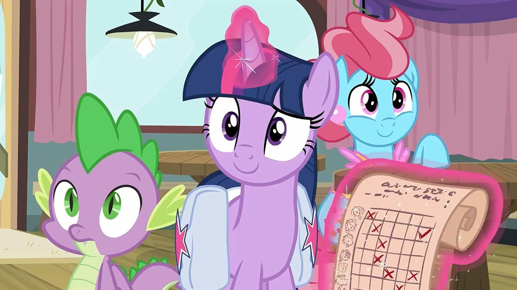 My Little Pony: Friendship is Magic (S09E16): A Trivial