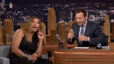 Queen Latifah, Sam Rockwell, a performance by the Broadway cast of Something Rotten!